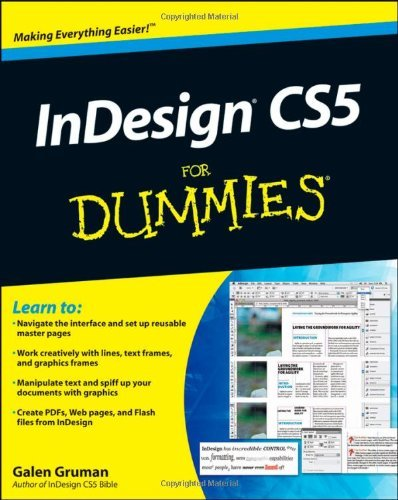 InDesign CS5 for Dummies 9780470614495