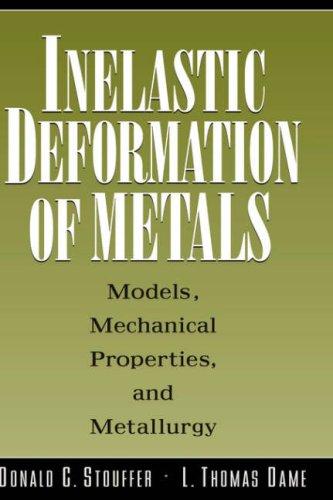 Inelastic Deformation of Metals: Models, Mechanical Properties, and Metallurgy 9780471021438