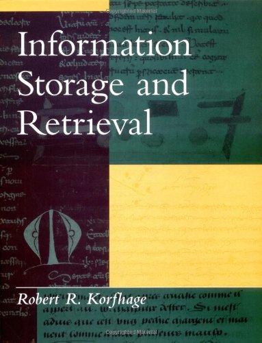 Information Storage and Retrieval 9780471143383