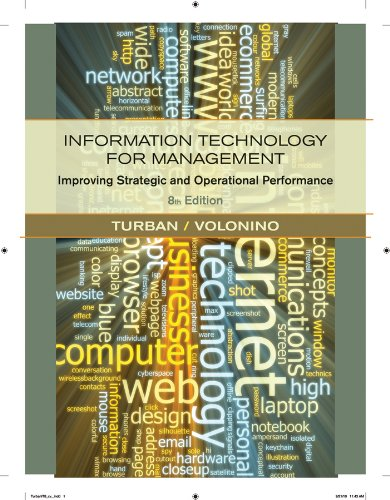 Information Technology for Management: Improving Strategic and Operational Performance 9780470916803