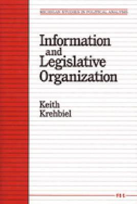 Information and Legislative Organization 9780472064601