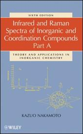 Infrared and Raman Spectra of Inorganic and Coordination Compounds: Part A: Theory and Applications in Inorganic Chemistry 1572258