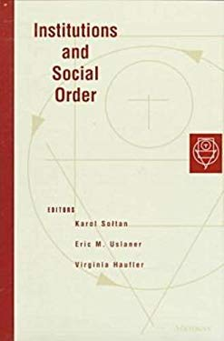 Institutions and Social Order 9780472108688