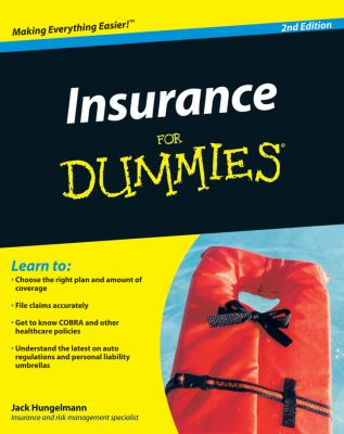 Insurance for Dummies 9780470464687