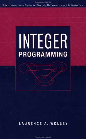 Integer Programming 9780471283669