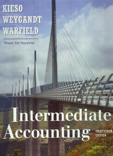 Intermediate Accounting 9780470374948
