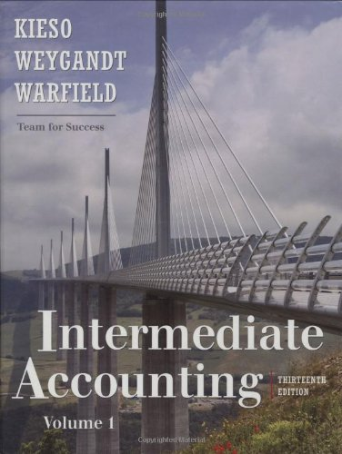 Intermediate Accounting: Volume 1 9780470423684