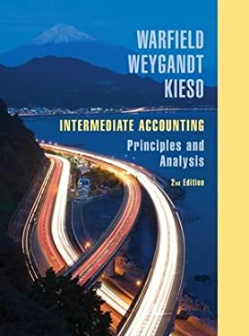 Intermediate Accounting: Principles and Analysis 9780471737933
