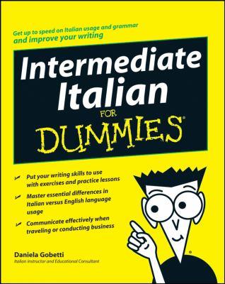 Intermediate Italian for Dummies 9780470247945