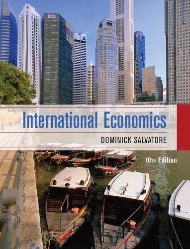 International Economics 9780470388341
