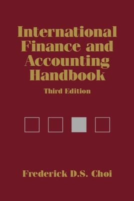 International Finance and Accounting Handbook 9780471229216