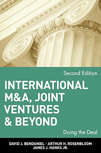 International M&A, Joint Ventures and Beyond: Doing the Deal 9780471022428
