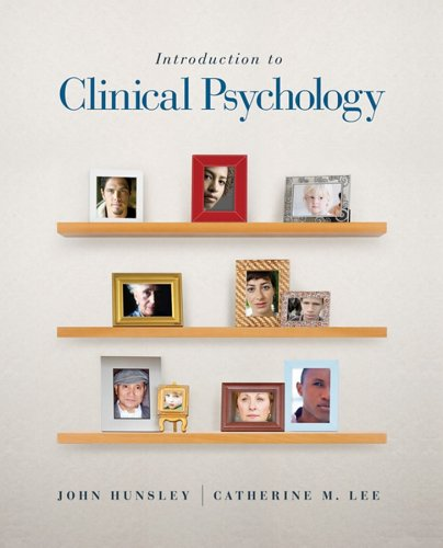 Introduction to Clinical Psychology: An Evidence-Based Approach 9780470835807