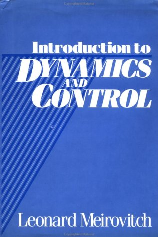 Introduction to Dynamics and Control 9780471870746