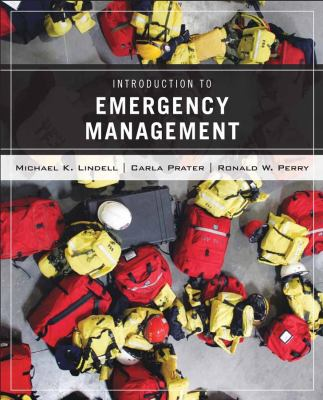 Introduction to Emergency Management 9780471772606