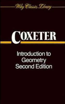 Introduction to Geometry 9780471504580