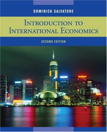 introduction to international economics salvatore 3rd edition pdf download