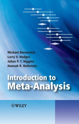 Introduction to Meta-Analysis 9780470057247