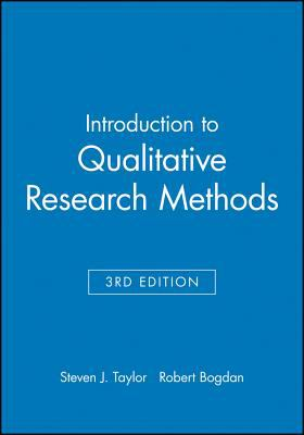 Introduction to Qualitative Research Methods 9780471168683