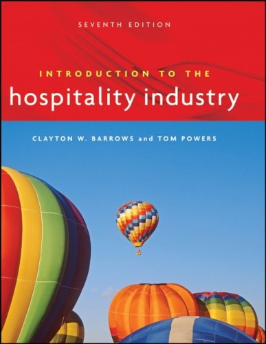 Introduction to the Hospitality Industry 9780471782766