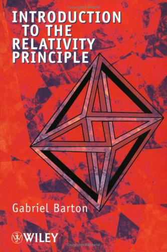 Introduction to the Relativity Principle 9780471998969