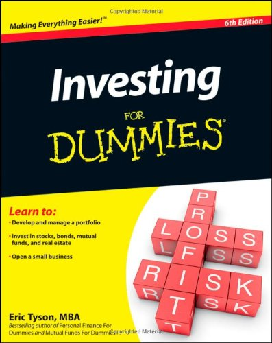 Investing for Dummies 9780470905456