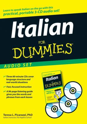 Italian for Dummies Audio Set [With Italian for Dummies Reference Book] 9780470095867