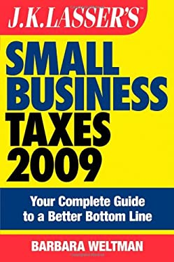 J.K. Lasser's Small Business Taxes: Your Complete Guide to a Better Bottom Line 9780470284995