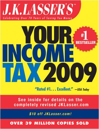 J.K. Lasser's Your Income Tax: For Preparing Your 2008 Tax Return 9780470280027