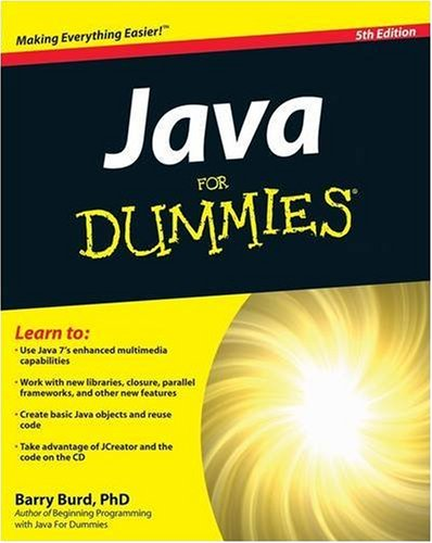Java for Dummies 9780470371732