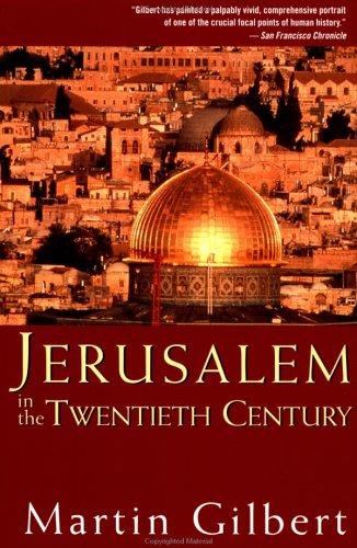 Jerusalem in the Twentieth Century 9780471283287