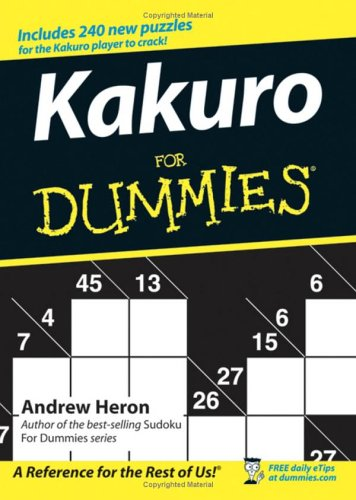 Kakuro for Dummies 9780470028223