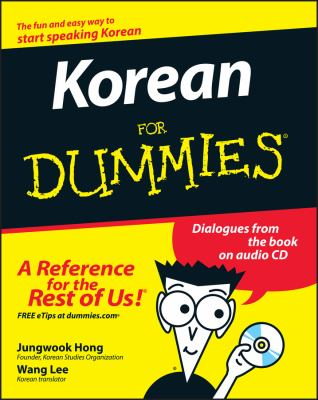 Korean for Dummies [With CD] 9780470037188