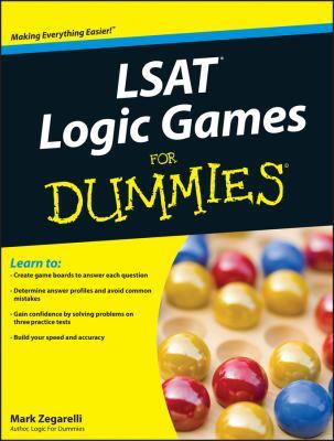 LSAT Logic Games for Dummies 9780470525142