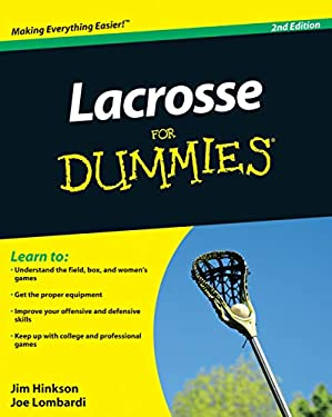 Lacrosse for Dummies 9780470738559