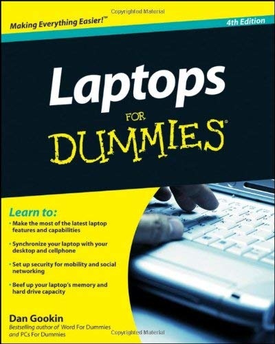 Laptops for Dummies 9780470578292