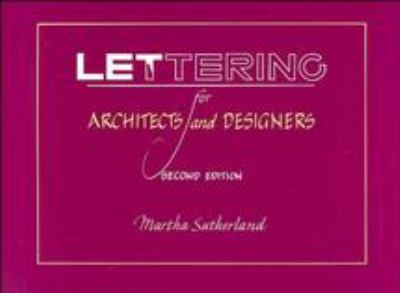 Lettering for Architects and Designers 9780471289555