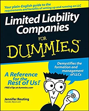 Limited Liability Companies for Dummies [With CDROM] 9780470173282