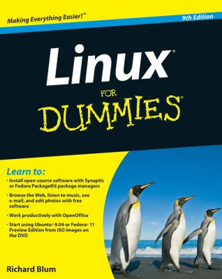 Linux for Dummies [With DVD ROM] 9780470467015
