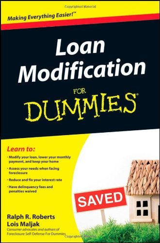 Loan Modification for Dummies 9780470501993