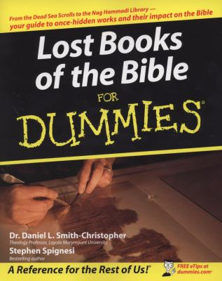 Lost Books of the Bible for Dummies 9780470243800