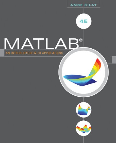 MATLAB: An Introduction with Applications 9780470767856