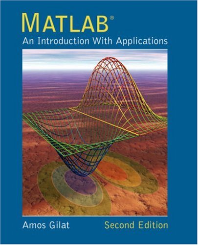 MATLAB: An Introduction with Applications 9780471694205