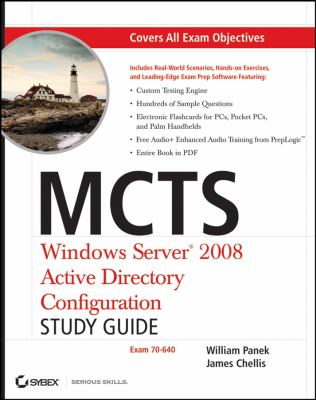 MCTS: Windows Server 2008 Active Directory Configuration Study Guide [With CDROM] 9780470261675