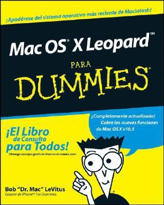 Mac OS X Leopard Para Dummies 9780470379035