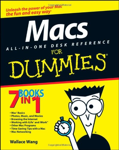 Macs All-In-One Desk Reference for Dummies 9780470169575