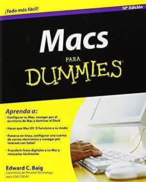Macs Para Dummies 9780470379042