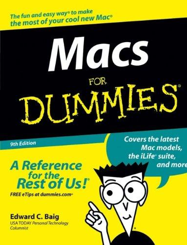 Macs for Dummies 9780470048498