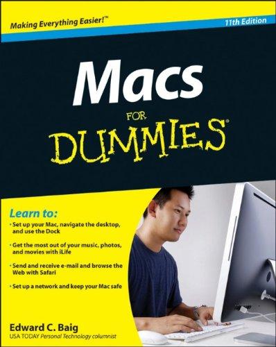 Macs for Dummies 9780470878682