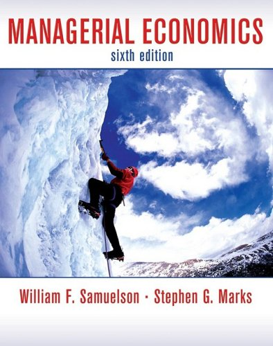 Managerial Economics 9780470282427